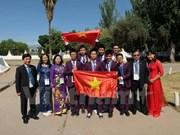 Le Vietnam obtient 2 médailles d'or aux Olympiades internationales des sciences junior