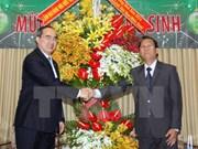 Noël : Le président du FPV Nguyen Thien Nhan adresse ses meilleurs voeux aux protestants