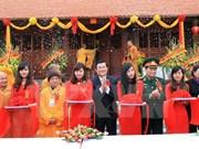 Activités du président vietnamien dans la province de Cao Bang