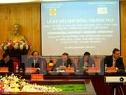 Assistance belge au système d'évacuation des eaux de Ha Nam