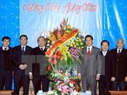 Le vice-PM Nguyen Xuan Phuc présente ses voeux aux catholiques et protestants