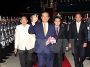 Le PM Nguyen Tan Dung rencontre son homologue thaïlandais