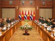 Vietnam-Cuba: entretien entre les ministres de la Défense