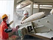 11 mois: 19,42 millions de tonnes de ciment et clinker exportées