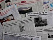 L'Armée vietnamienne dans la presse laotienne
