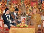 Activités du président Truong Tan Sang au Cambodge