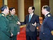 Le Premier ministre insiste sur les missions de l'armée