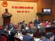 Clôture de la 33e session du Comité permanent de l'AN