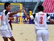 Football de plage : le Vietnam figure à la 4e place d'Asie