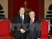 Une importante délégation chinoise en visite au Vietnam