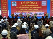 Inauguration de la grande usine d'engrais chimique DAP à Lao Cai