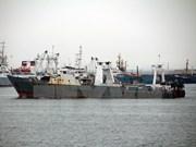 Incendie d'un navire de pêche de R. de Corée : deux Vietnamiens portés disparus