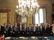 Banque-finance : échanges d'expériences avec l'Italie
