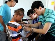 Un hôpital sud-coréen offre des soins médicaux aux pauvres à Hung Yen