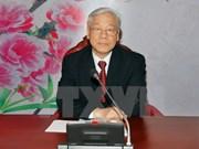 Les chefs du PCV et du PCC s'entretiennent au téléphone
