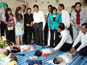 Le Président Truong Tân Sang formule ses vœux du Têt à Hô Chi Minh-Ville
