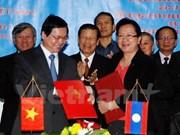 Vietnam-Laos : signature du nouvel accord de commerce