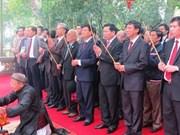 Ouverture de la Fête du temple de Kinh Duong Vuong à Bac Ninh