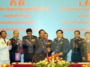 Vietnam-Cambodge: signature d'un protocole de coopération dans la défense