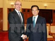 Le PM reçoit le ministre slovaque de la Justice