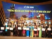 À Hô Chi Minh-Ville, 123 entreprises du tourisme récompensées