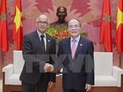 Le président de l'AN reçoit des hôtes marocains