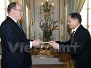 Le Vietnam et Monaco renforcent leur coopération bilatérale