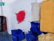 Quang Tri : un réseau de transport de drogue du Laos au Vietnam démantelé