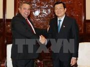 Le chef de l'Etat prend en haute considération les relations avec Cuba