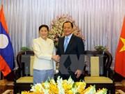 La présidente de l'AN laotienne se rend à HCM-Ville