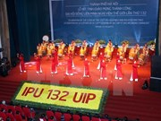 Meeting en l'honneur du succès de l'IPU-132 à Hanoi