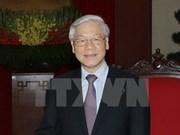 Le secrétaire général du PCV s'envole pour la Chine