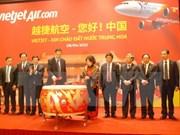 VietJet Air va ouvrir des lignes vers la Chine