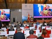 Euro Presse Image parle du succès du Vietnam dans l'organisation de l'IPU-132