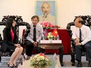 La délégation de l'AKP en visite à Binh Thuan
