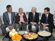 Le leader du PCV visite un modèle de nouvelle ruralité au Yunnan