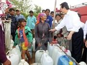 Le PM inspecte le dispositif de lutte contre la sécheresse à Ninh Thuân