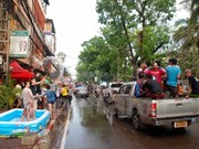 Les Laotiens saluent le Nouvel An lunaire