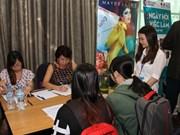 De nombreux candidats recrutés au forum emploi franco-vietnamien