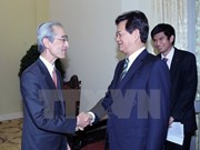 Nguyên Tân Dung reçoit le président de la banque japonaise BTMU