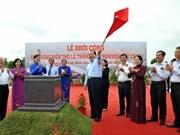 Mise en chantier du temple du marquis Nguyên Huu Canh à HCM-Ville