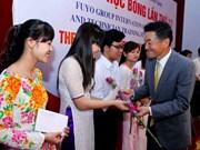 Remise de bourses d'études japonaises FUYO à 80 étudiants