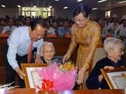 HCM-Ville: plus de 320 Mères vietnamiennes héroïnes honorées