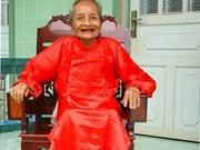 A 122 ans, Mme Nguyen Thi Tru est la nouvelle doyenne de l'humanité