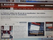La presse algérienne parle de la Victoire du 30 avril du Vietnam