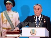 Kazakhstan : le président Noursoultan Nazarbaïev prête serment