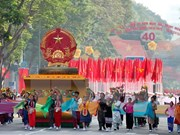 Félicitations laotiennes à l'occasion de la Victoire du 30 avril