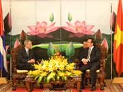 Une délégation du Parti communiste cubain au Vietnam