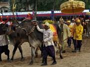 La fête du Sillon sacré au Cambodge