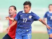 Le Vietnam se qualifie pour la demi-finale d'un championnat de football féminin